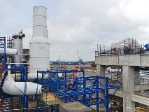 Construction of the largest air separation unit ever built